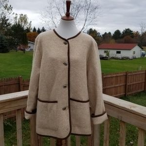 Vintage L.L. Bean New Wool Coat